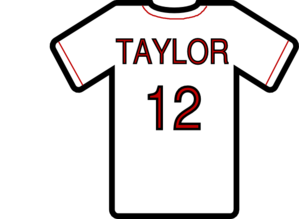 Jersey vector. Baseball clip art at