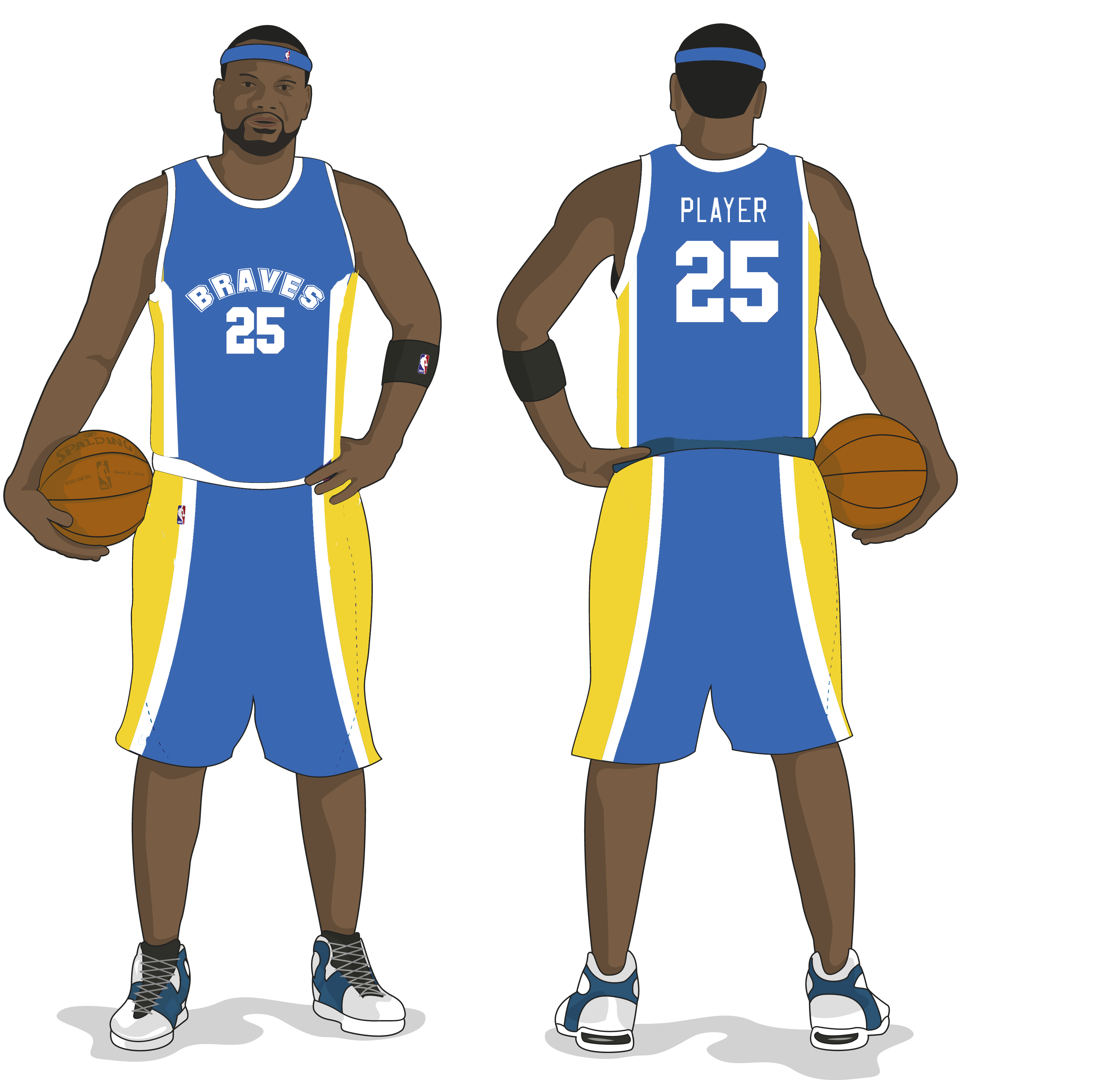 Jersey vector draw basketball. Free template download clip