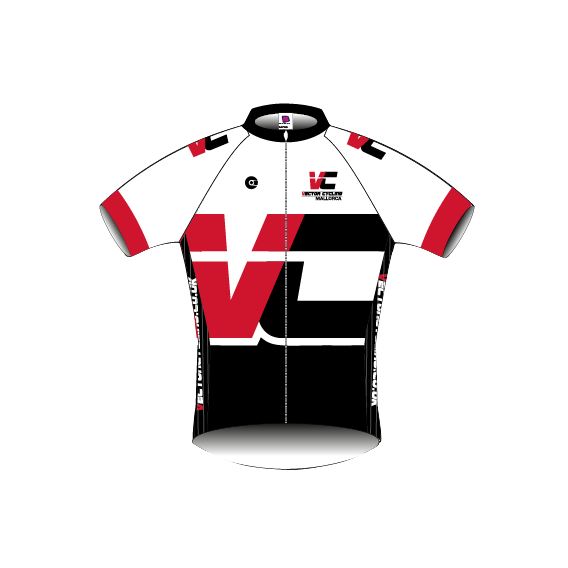 Jersey vector bicycle. Classic fit cycling mallorca