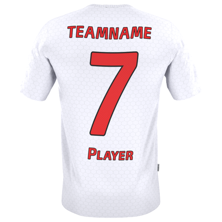 Jersey vector front back. Customized soccer jerseys design
