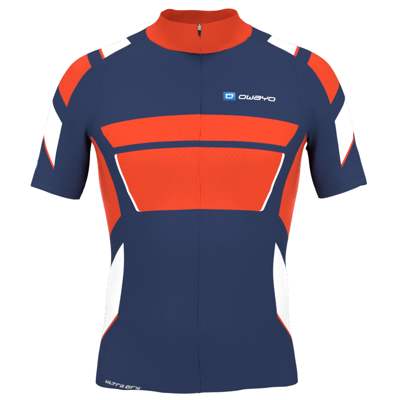 Jersey vector bicycle. Design your own cycling