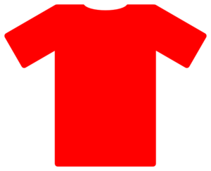 Jersey vector soccer. Red clip art at