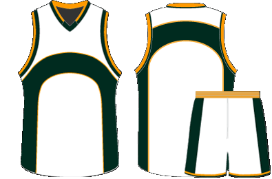 Jersey vector sublimation. Design custom sublimated basketball