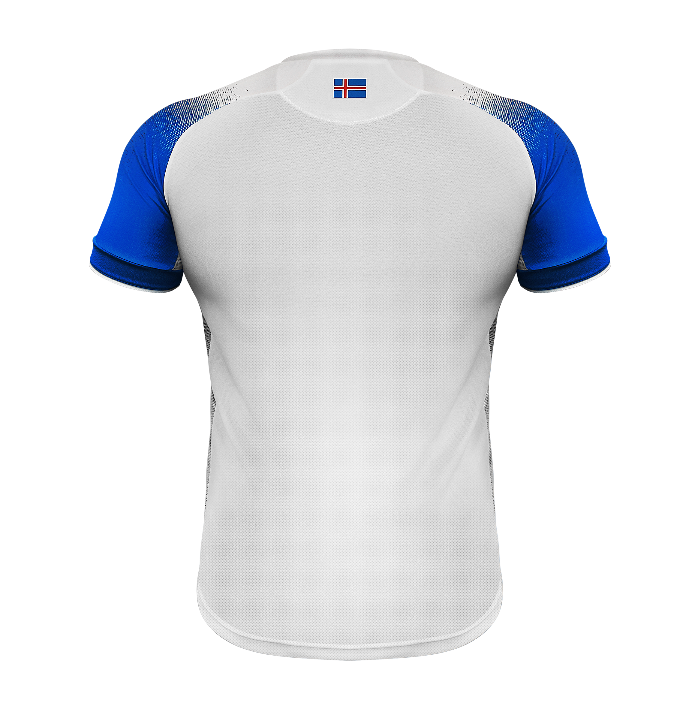 Jersey vector volleyball. Iceland world cup official