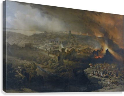 jerusalem drawing david roberts