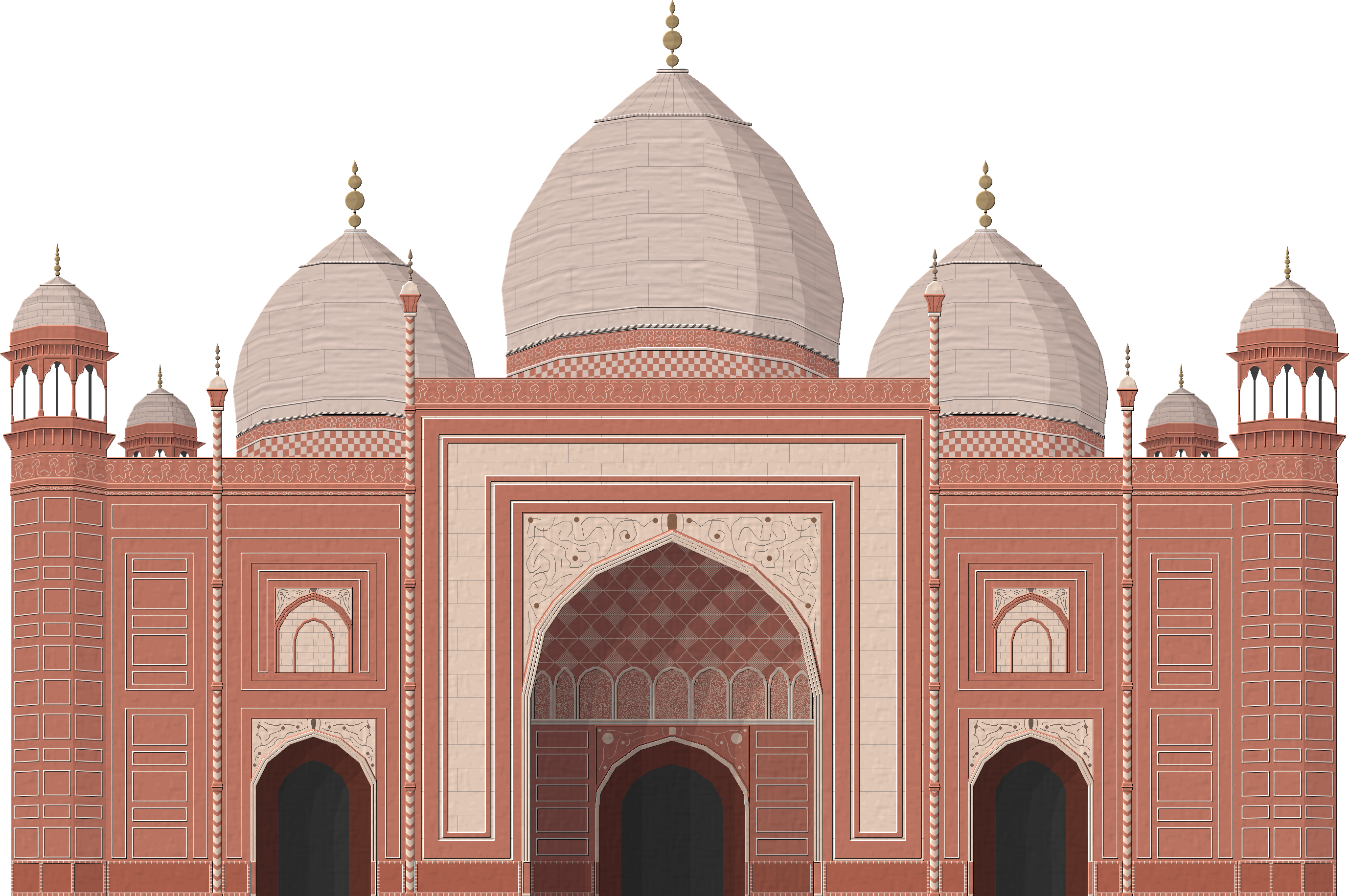 Jerusalem Drawing Islamic Architecture Transparent & PNG Clipart