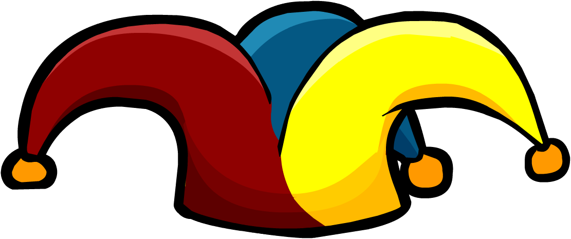 Jester hat png. Image villagejesterhat club penguin