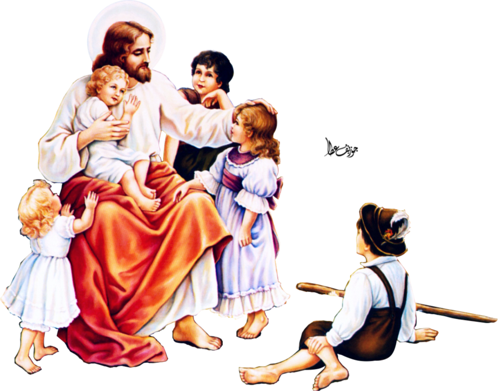 Jesus and children png. Child by joeatta on