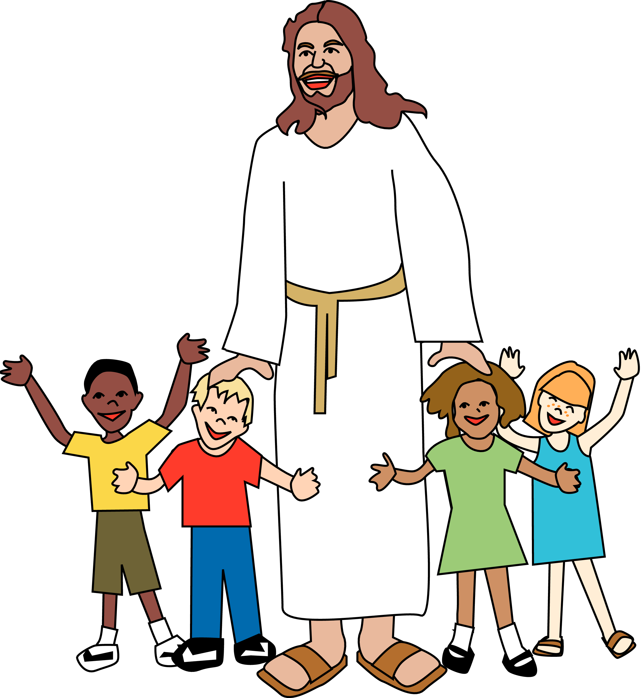 Jesus and children png. With clipart at getdrawings