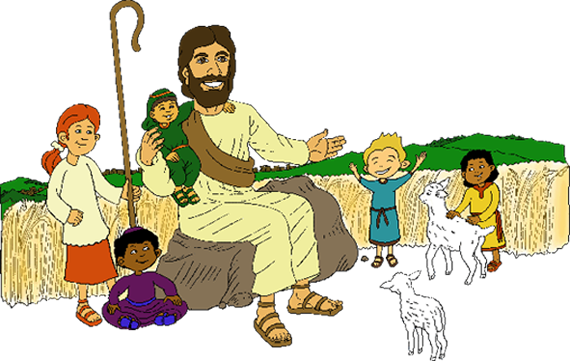 Jesus and children png. Bible today kids the