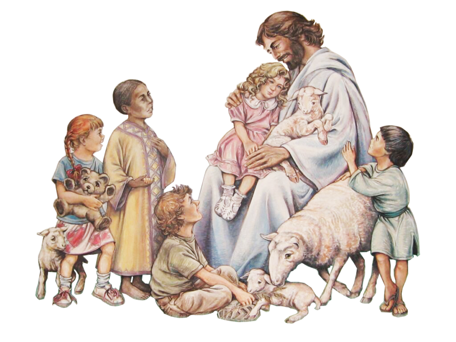 Jesus and children png. Bible teaching of about