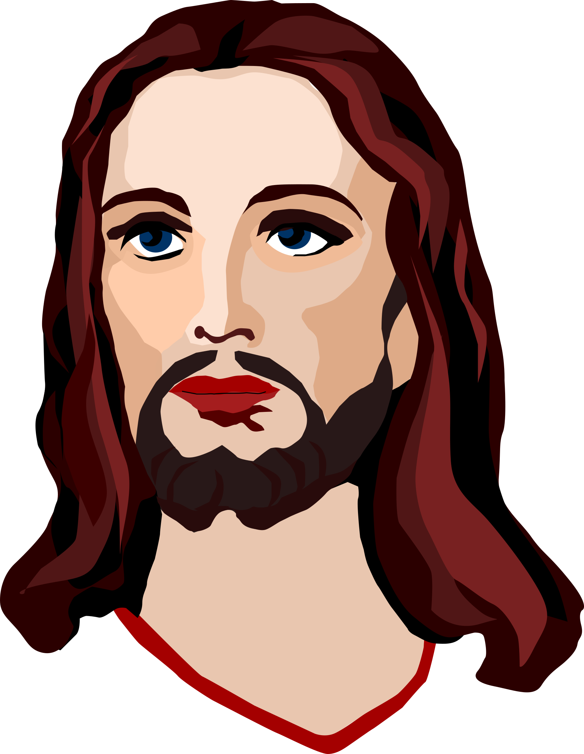 Jesus clipart transparent background. Christ icon web icons