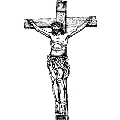 Jesus on the cross png. Transparent images stickpng illustration