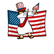 Jesus dab png. For freedom shirt by