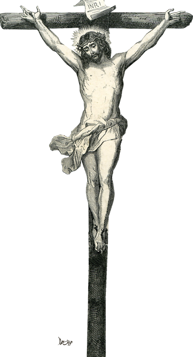 Jesus on the cross png. Dies by joeatta deviantart