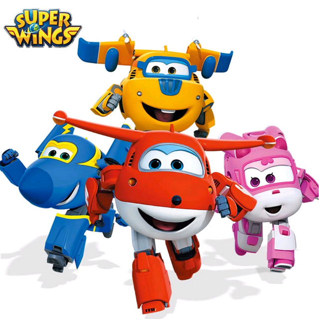 Jet clipart childrens toy. Mini super wings airplane