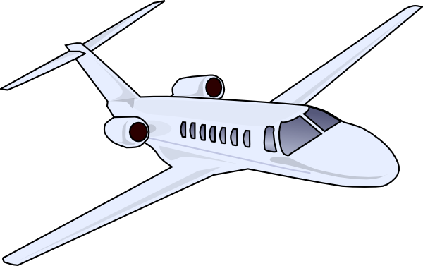 Aircraft vector jet plane. Clip art at clker