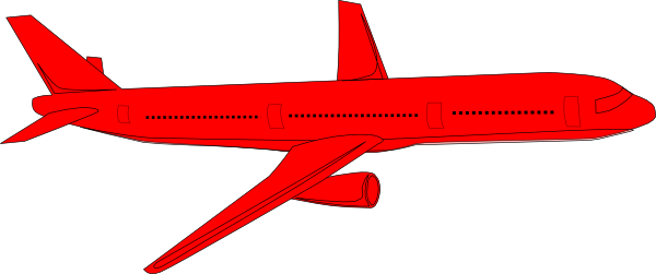 Jet clipart toy. Red clip art at