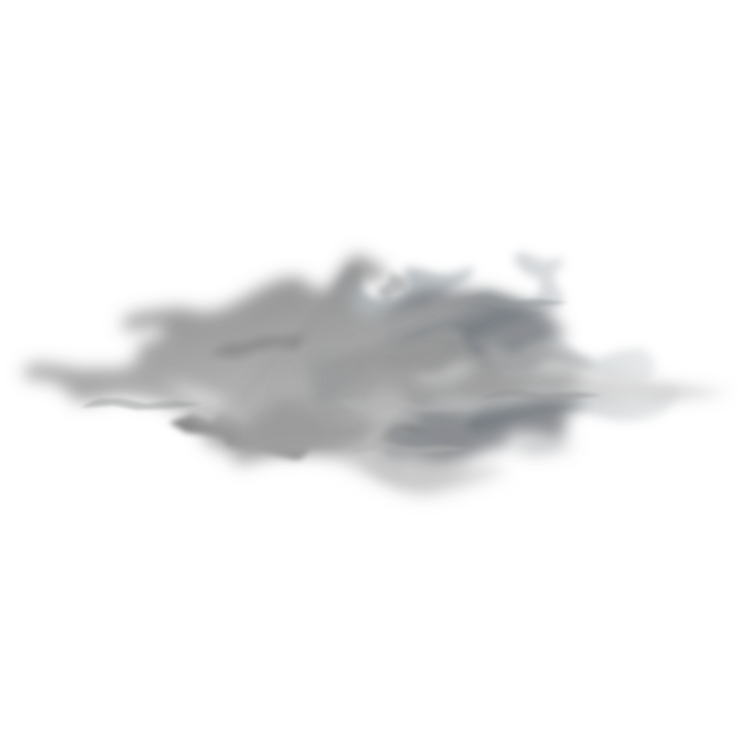 Drawing fog. Vector free download on
