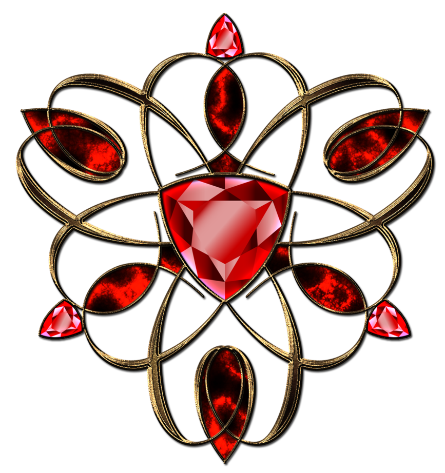 Ornaments clipart jewellery logo. Jewelry ruby decoration in