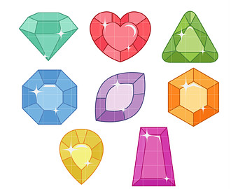 Treasure clipart jewls. Gems pencil and in