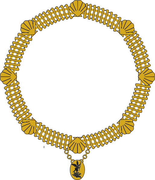 Jewelry clip collar. Image order of saint