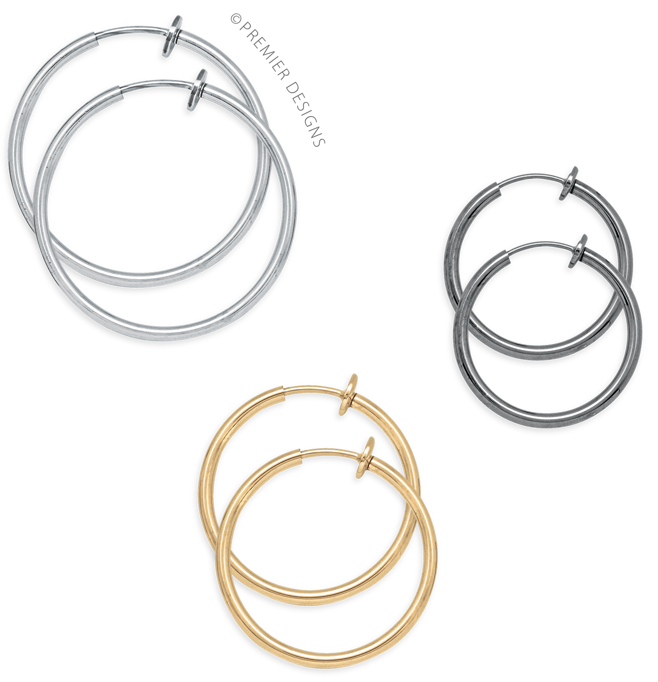 Jewelry clip loop. At attention po earring