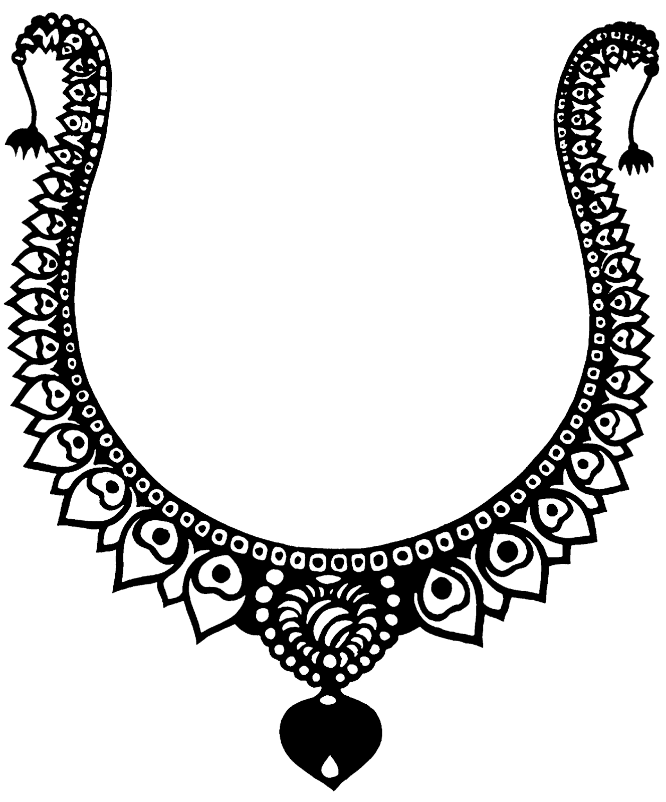 Clip art black and. Jewelry clipart png free download