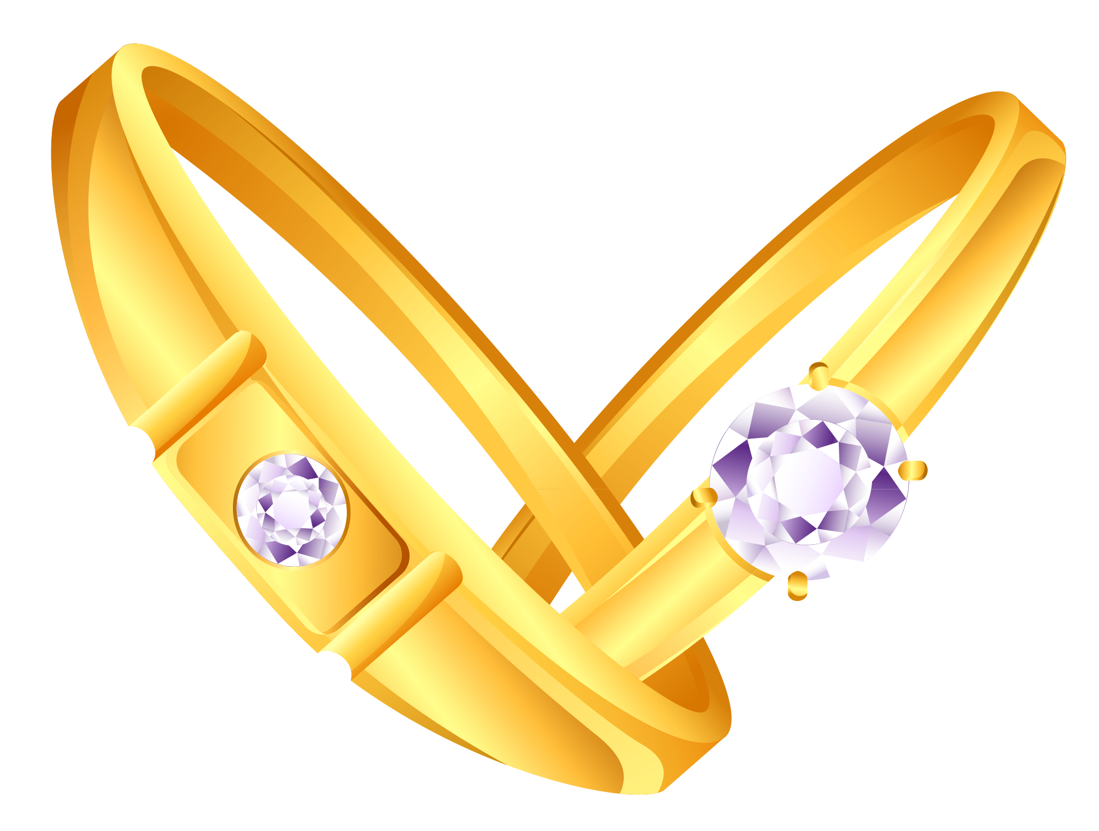 5 golden rings png