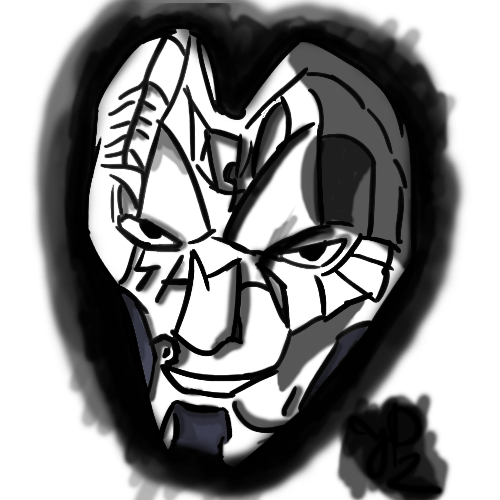 Jhin drawing. Feel free to give