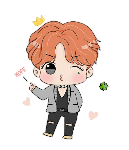 Jhope Drawing Easy Transparent Png Clipart Free Download Ya