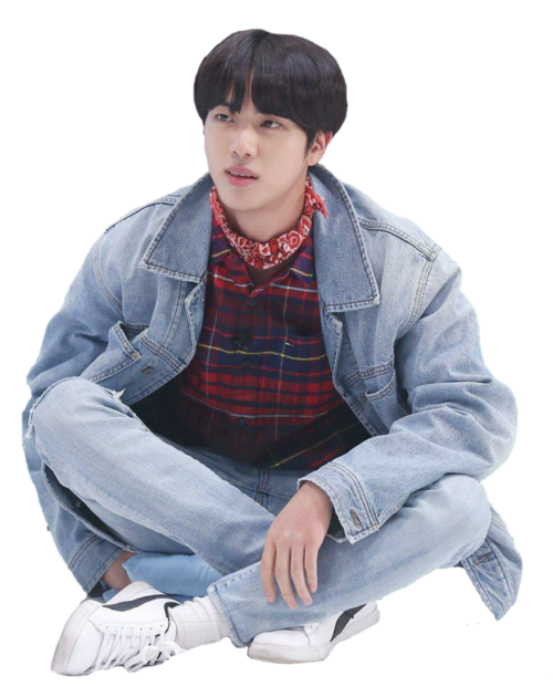 Jin transparent bts heart. Image about in kpop