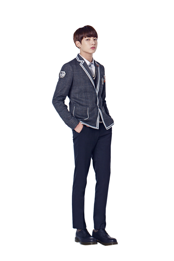 Jin transparent bts uniform. Picture for smart school