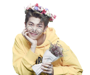Jin transparent flower crown. Images about overlays