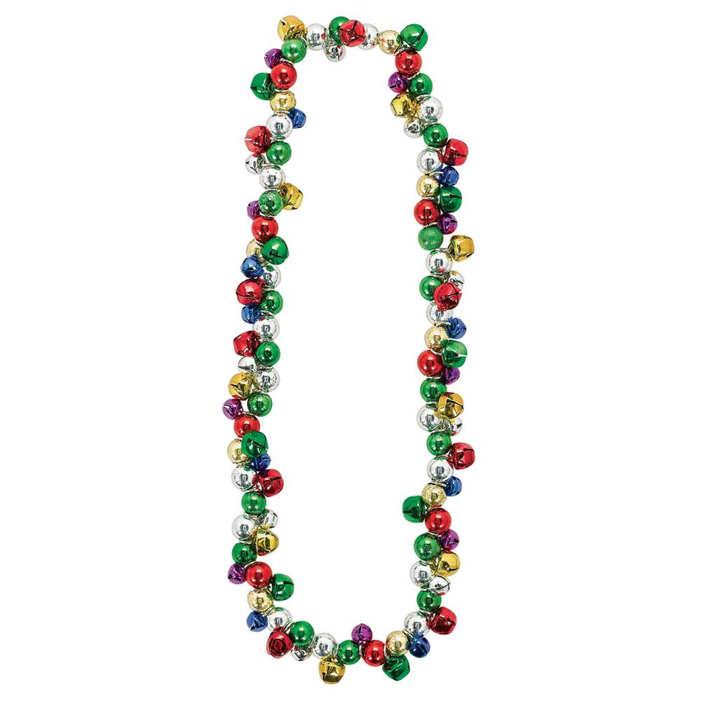 Jingle clipart necklace. Amscan in bell christmas