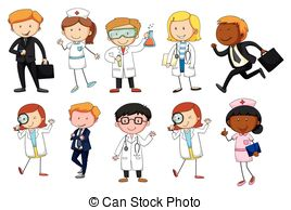 Jobs clipart. Occupations illustrations and clip picture transparent download