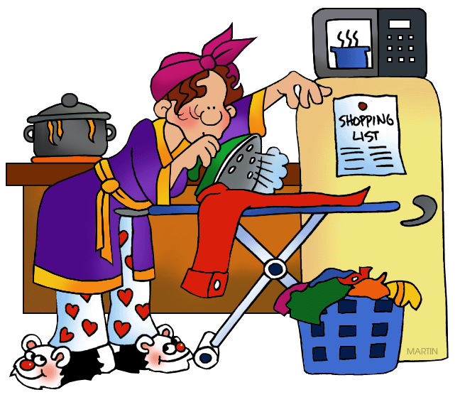 House wife. Free occupations cliparts download