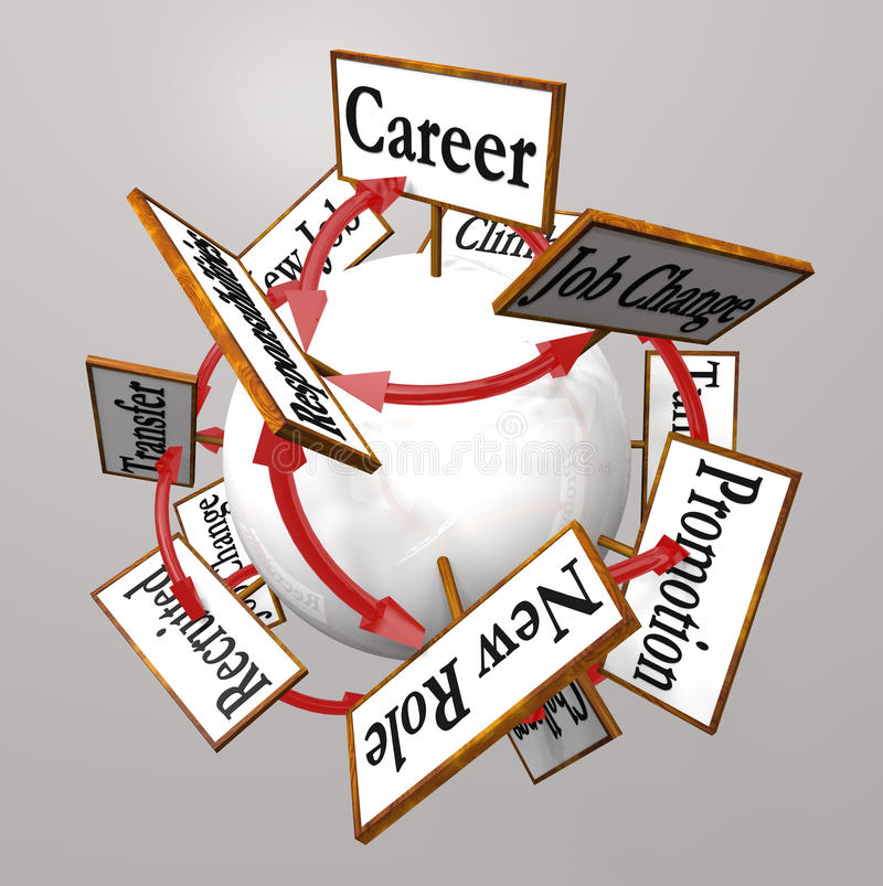 Jobs clipart professional job. Career signs path promotion image transparent stock