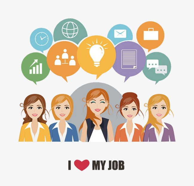 Women cartoon png image. Jobs clipart professional job picture library library