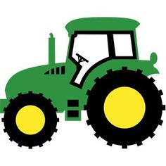 Green tractor clip art. John deere clipart graphic royalty free download