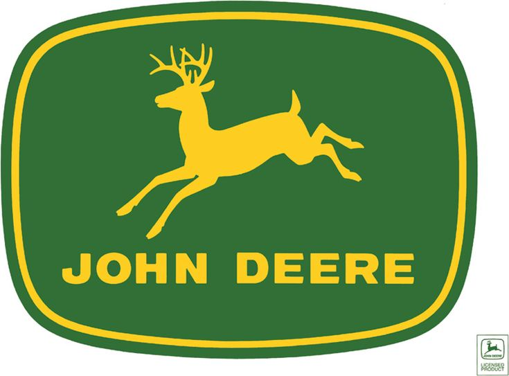 John deere clipart badge.  best logos images banner black and white library