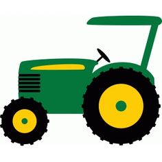 John deere clipart farm equipment. Tractor pinterest silhouette design