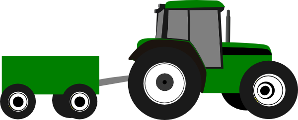 barn clipart tractor