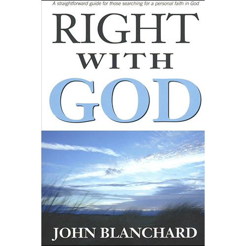 John god. Right with by blanchard