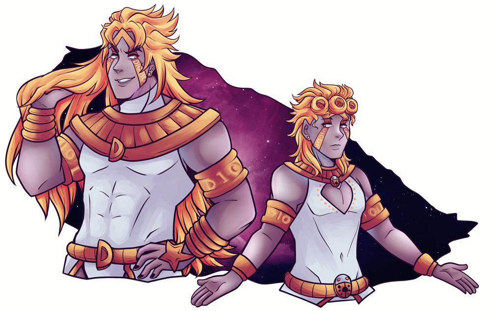 Jojo drawing eyes. Heaven ascension dio and