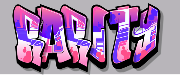 Jojo letters png. Rarity s name in