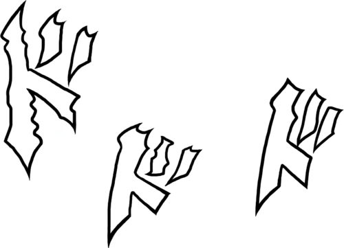 Jojo sound effects png. Manga sfx cutouts initiald