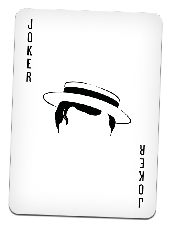 Joker cards png. Cult movie by human