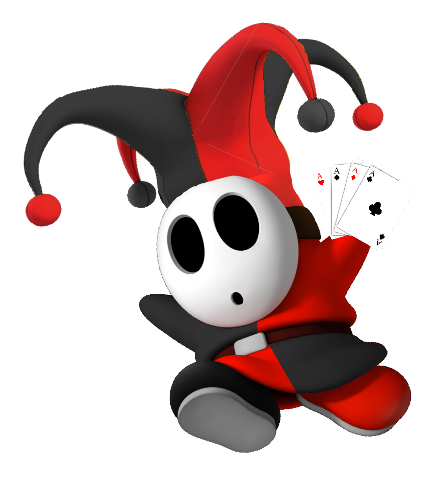 Joker cards png. Image red guy with