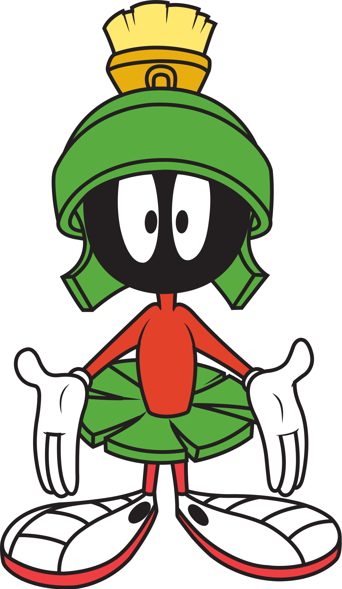 Alien clipart drawing mars. Marvin the martian wikipedia